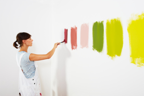 Picking the perfect paint colour